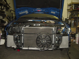 ER B5 S4 2.7T Dual Side Mount Intercooler Kit